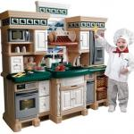 Step2 Lifestyle Deluxe Kids Pretend Kitchen - plastic play, great shape