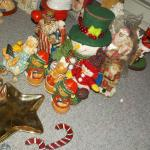 NO.3 SANTA BARGAIN LOT CRAZY XMAS STUFF.