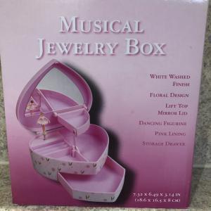 Photo of Musical Dancing Ballerina Jewelry Box