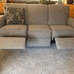 BRAND NEW! Wall Hugger. Reclining sofa