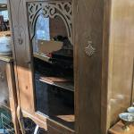 Art Deco Dish Cabinet