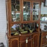 Large cherry China Cabinet only