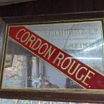 Cordon Rouge Beer Sign