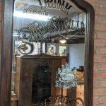Vintage Dr Brown's Sarsaparilla Mirror Sign