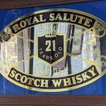 Royal Salute Scotch Whisky Sign