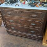 Antique Dresser with Marble Top Only