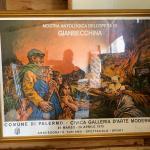 Large Gianbecchina art piece 4' x 3.5'
