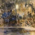 Ilene Kerr original framed water color