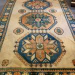 Large wool blend Persian rug / Hand made / appraised at $4,500