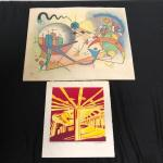 Lot 173 - Two Colorful Prints
