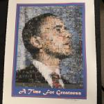 Lot 178 - Michael Verlangieri Obama Art