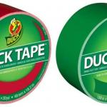 Duck Brand Color Duct Tape Christmas Holiday Combo 2-Pack, 20 Yards/Ea - New