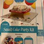 Small cake party kit New in Box