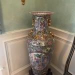 Stunning large vase on stand