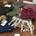 Lot 36 NWT Five CC Beanies, One Scarf
