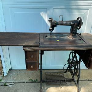 Photo of Antique sewing machine