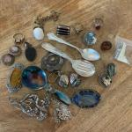 Mixed lot of Sterling Jewelry / Victorian and other