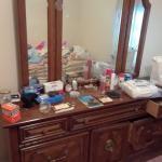 3 Piece Wood Veneer Bedroom Dresser Set