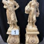 LOT#1: Tuscan Style Statues