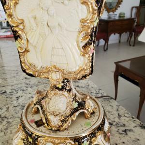 Photo of Antique 18th Century  Capodimonte Lamp
