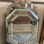 LOT#36: Believed to be Murano Mirror