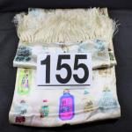 LOT#155: Colorful Asian Snuff Bottle Scarf