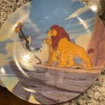 1994 lion king commemorative Disney plate