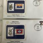 50 States Commemorative Stamp Collection