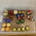 24pc Glass Ornament Assortment