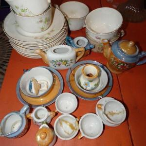 Photo of Miniature Childs Japan Tea Set