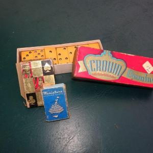 Photo of Domino's & Playing Cards