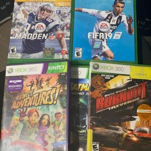 Photo of Video Game Lot