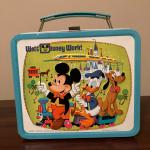 Vintage Walt Disney World metal lunch box,,,NO THERMOS