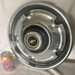 Vintage Chevy Hubcap