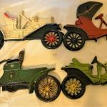 Cast Aluminum Antique Cars Wall Hangings