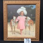 LOT#76: Jan Van Beers Believed to be Oil on Canvas