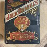 Vintage jack Daniels poker set