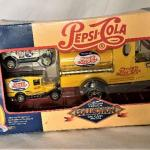 Pepsi Model Trucks in Package