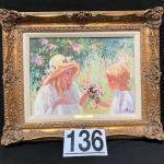 "LOT#136: Irene Borg ""L'Offrande"""
