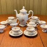Johann Haviland Bavaria Tea Set (Moss Rose)