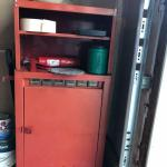 Metal Storage Chest with Accessories