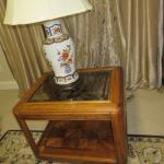 SET OF COFFEE TABLE & TWO END TABLES