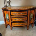Beautiful hand painted chest