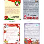 Personalized Letters from Santa  (for kids & adults)