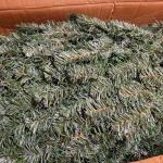 Lot 333: Large 9 foot BLACK FOREST Blue Spruce Dark Green Artificial Christmas T