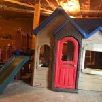Little Tikes Playhouse with Swing & Slide