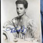 Vintage Signed Photograph of DEBORAH KERR 8 x 10