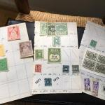 Collection of 20+ Rare US Tax Stamps