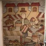 Hand made South American / Peru wall hanging