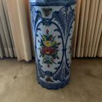 Vintage umbrella stand / 60'years old / ornate gorgeous